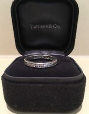 Tiffany & Co Platino diamante pieno eternità anello