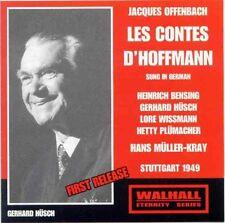Offenbach - Tales of Hoffmann (Stuttgatt 1949/Hans Muller-Kray) BENSING HÜSCH