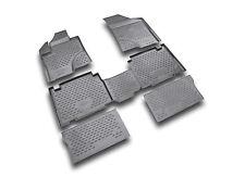 Novline 6 Piece Black Floor Mats Liners (fits: 2007-2012 Hyundai Veracruz)