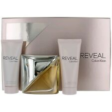 Reveal Perfume by Calvin Klein, 3 Piece Gift Set for Women NEW