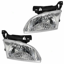 2000 2001 2002 CHEVROLET CAVALIER HEADLIGHT LAMP PAIR LEFT & RIGHT SET