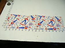 vintage 1950's wrapping paper---red white and blue soldier