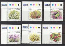 MALTA 2003 Fiori/Piante/NATURA/Fruit/alberi/Definitives 6v (s3689)