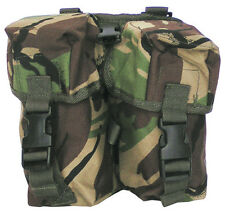 British Army Combat Utility Double Ammo Belt Travel Bum Pouch Bag PLCE DPM New