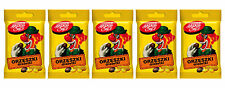 5 x CLOWN Retro Dragee Chocolate Covered Peanuts Candy Treats 70g 2.5oz