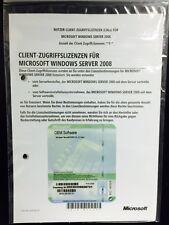 Windows Server 2008 Erweiterungslizenz für 5 User, SB/OEM mit MWST-Rechnung