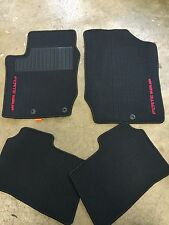 NEW OEM 2009-2013 KIA FORTE KOUP 4PC CARPET FLOOR MAT SET - BLACK