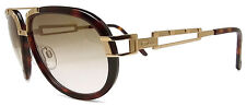 CAZAL 8006 SUNGLASSES AVIATOR (003) BROWN GOLD AUTHENTIC NEW