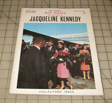 """""""One Dozen Red Roses"""" The Life Story of Jacqueline Kennedy JFK (1964) Booklet"""