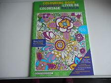 LIVRE DE COLORIAGE ADULTE - 46 DESSINS des heures de détente et de couleurs