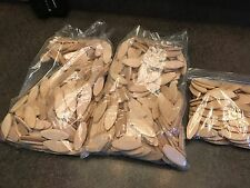 """Lot of 600 Joinery Wood Biscuit Joints Wooden Biscuits 2"""" Size 10 Joiner"""