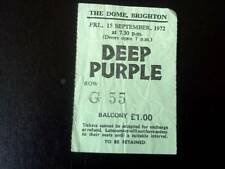 Deep Purple  ticket The Dome Brighton 15/09/72
