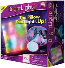 Bright Light Mood Pillow LED Cozy Color changing Lighted Soft Kids As Seen on TV
