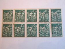 1922 GERMANY STAMP SC#227 BLOCK OF 10 - MINT NH WITH FULL GUM - BB-2