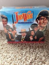 The John Wayne Larger Than Life Collection VHS Set of 9 Tapes New Sealed
