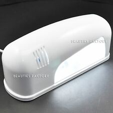 LIGHT WEIGHT 9W UV GEL CURING LAMP NAIL ART DRYER AZ392A