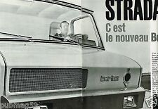 Coupure de Presse Clipping 1965 (4 pages) Stardair Nouveau camion Berliet