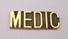 US ARMY MEDIC SCRIPT Military Veteran Hat Pin 15111 HO