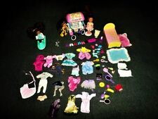 HUGE LOT OF FULLY DRESSED KELLY BARBIE LITTLE SISTERS DOLLS WITH CLOTHES,FURNITU
