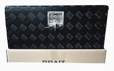 "BLACK FINISH 30"" Aluminum ATV Tool Box - Truck- RV -Trailer  Storage Box BRAIT"