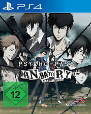 ++ Psycho-Pass: Mandatory Happiness (Sony PlayStation 4 PS4, 2016) ++