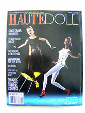 Haute Doll Magazine April 2009 Milou Chanel FDA's Petra Wu Paper Dolls Patterns