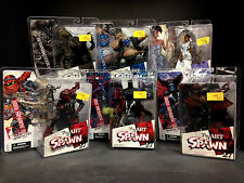 2005 MCFARLANE TOYS ART OF SPAWN SERIES 27 ISSUE #85 119 131  6 FIGURE SET J37