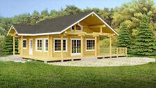 Award Winning 3 Bed/2 Storey Log Cabin - Self Build, Partial Build or Turnkey