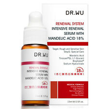 【DR. WU】SKINCARE INTENSIVE RENEWAL SERUM WITH MANDELIC ACID 18% 15ML NIB