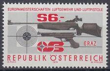 Österreich Austria 1979 ** Mi.1599 Gewehr Pistole Gun Pistol