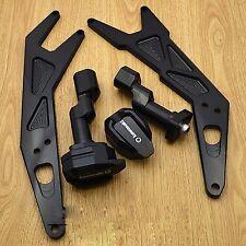 Frame Slider Crash Pads Protector For 2013-2015 KAWASAKI Ninja 250 300 black
