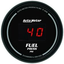 "Auto Meter 6363 2-1/16"" Fuel Pressure Gauge 5-100 Psi Sport-Comp Digital"