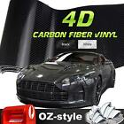 4D CARBON FIBER VINYL 1800MM x 1510MM BLACK CAR AUTO WRAP DECAL AIR RELEASE FILM