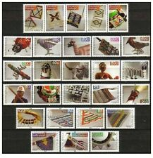 South Africa 2010 8th Definitive Beadwork Set MNH
