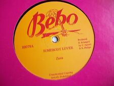 "ZUZU - SOMEBODY LOVER / LITTLE JOHN - MY WOMAN IS CRYING - 12"" REGGAE SINGLE"