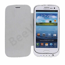 3200MAH PORTABLE EXTERNAL CHARGER BATTERY FLIP CASE FOR SAMSUNG GALAXY S3 i9300
