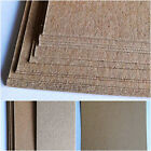 A4 A5 Recycled Natural Brown Kraft Card Stock Blanks For Wedding Invites & Tags