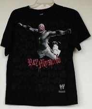 WWE Rey Mysterio Black Wrestling T-Shirt Boys XL