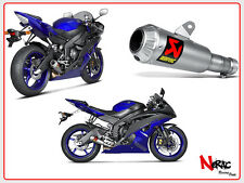 NEW! NOVITA! AKRAPOVIC EXHAUST SCARICO SLIPON YAMAHA R6 DAL 2006 S‐Y6SO10‐AHBT