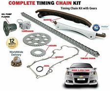 FOR CHEVROLET AVEO 1.3D T300 2011--  TIMING CAM CHAIN KIT SET + OIL PUMP FLANGE