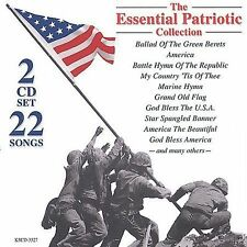 Essential Patriotic Songs. Green Beret, God Bless The USA America 2-CD's