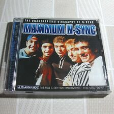 Maximum N-Sync - The Unauthorized Biography of N-Sync 1999 UK CD #P01