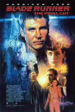 BLADE RUNNER - THE FINAL CUT Movie POSTER 27x40 Harrison Ford Rutger Hauer