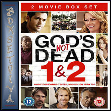 GODS NOT DEAD - 1 & 2 MOVIE COLLECTION  *BRAND NEW DVD**