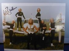 Honor Blackman Signed 8 x 10 Color Photo with COA