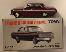 Tomy Tomica Limited Vintage  LV-03c Toyopet Crown (Purple) 1 : 64 (Retired)