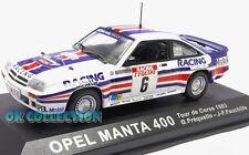 1:43 Rally OPEL MANTA 400 - Tour de Corse 1983 - Frequelin - Fauchille (060)