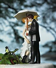 Showered with Love Wedding Cake Topper