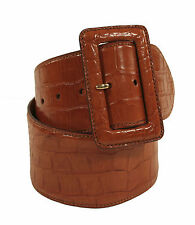 Ralph Lauren Purple Label Tan Alligator Belt M New $1895