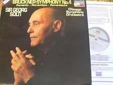 SXDL 7538 Bruckner Symphony No. 4 'Romantic' / Solti